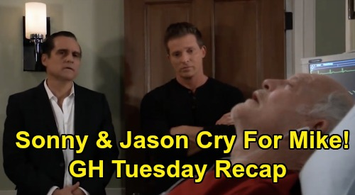 General Hospital Spoilers Recap: Tuesday, May 19 - Nina Claims She'll Testify For Nelle - Sonny & Jason Cry Over Mike
