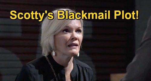 General Hospital Spoilers: Scott's Blackmail Plot, Betrays Ava & Plays with Nikolas Fire – Lawyer's Sneaky Plan Bound to Flop