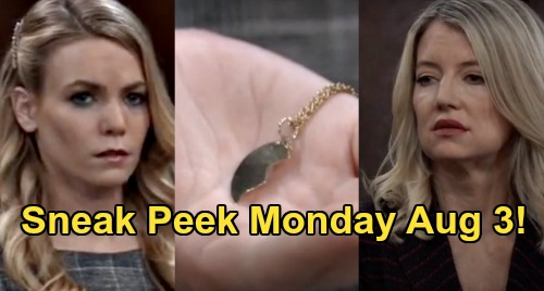 General Hospital Spoilers Sneak Peek: Monday, August 3 - Nelle Flashes Half-Heart Pendant – Nina's Shocking Custody Testimony