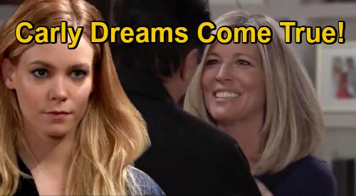 General Hospital Spoilers: Sonny & Nelle Back-from-the-Dead Bombshells – Carly's Dream Comes True, But So Does Worst Nightmare?