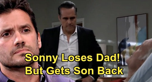 General Hospital Spoilers: Sonny Welcomes Dante Home After Mike's Death – Loses Father, But Gets Son Back?