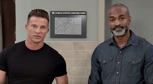 General Hospital Spoilers: Steve Burton & Donnell Turner Announce Shocking Surprise On Monday's New GH Episode, August 3