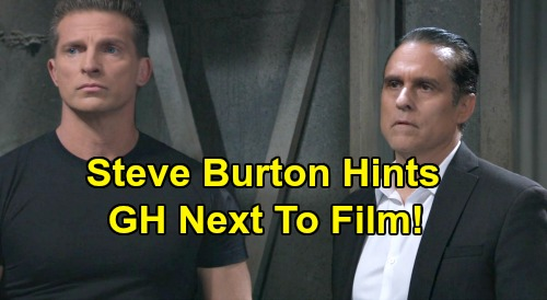 General Hospital Spoilers: Steve Burton Hints GH To Start Filming New Episodes Next After B&B