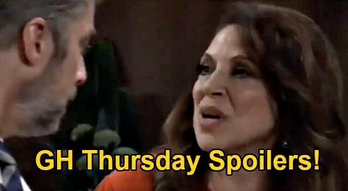 General Hospital Spoilers: Thursday, December 10 – Scott's Obrecht Shocker – Anna Wants Dante Answers – Tracy's Cheating Bomb