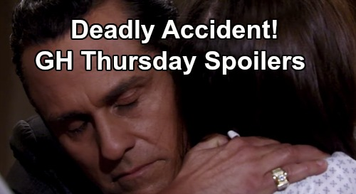 General Hospital Spoilers: Thursday, July 9 – Kristina Blames Herself for Deadly Accident – Carly Reels Over Abby's Job – Robin Targeted