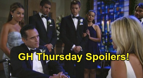 General Hospital Spoilers: Thursday, June 18 – Maxie's Dead Body Discovery – Sonny & Carly's GH Chapel Wedding – Ava's Tight Spot