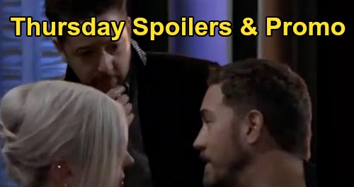 General Hospital Spoilers: Thursday, October 29 – Tale of Twin Witches – Masked Man Worries Julian – Cyrus & Sasha's Dangerous Friendship