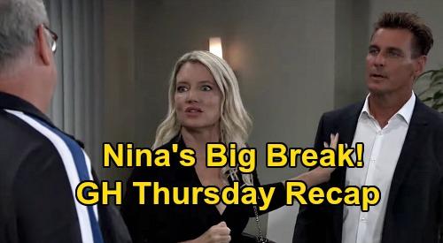 General Hospital Spoilers: Thursday, September 10 Recap - Mike Death Imminent - Nina Big Break - Nik & Liz, Ava & Franco Dual Kisses