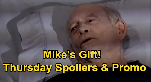 General Hospital Spoilers: Thursday, September 17 – Tracking Phyllis Caulfield Down - Nikolas Plays Hero for Avery – Mike's Gift