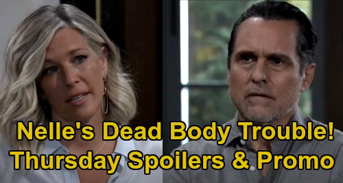 General Hospital Spoilers: Thursday, September 24 – Chase Grills Carly About Nelle's Dead Body – Willow Calls Out Sasha For Michael Love