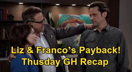 General Hospital Spoilers: Thursday, September 24 Recap - Liz & Franco's Payback - Carly Tells Sonny The Truth - Sasha Spirals