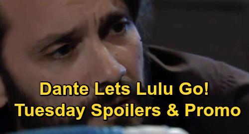 General Hospital Spoilers: Tuesday, December 1 – Dante Lets Lulu Go – Valentin Fires Martin – Ava's Gun Showdown with Julian