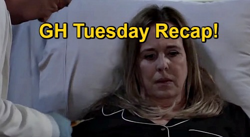 General Hospital Spoilers: Tuesday, December 15 Recap - Laura In Danger - Gregory's Wedding Invite - Joss Confesses To Carly