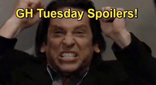 General Hospital Spoilers: Tuesday, January 5 – Jason's Disturbing News for Sam – Franco's Meltdown – Obrecht's Dante Trouble