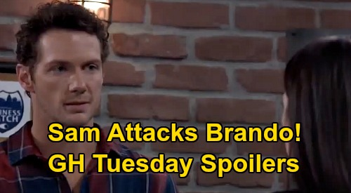 General Hospital Spoilers: Tuesday, July 14 – Nelle & Sasha Spar – Chase Tempted to Tell Willow the Truth – Sam Attacks Brando