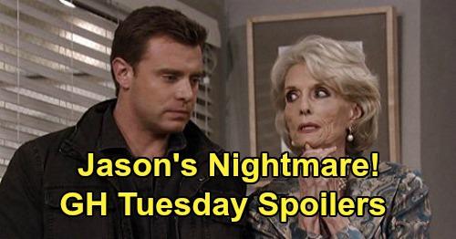 General Hospital Spoilers: Tuesday, June 2 – Sonny Finds Morgan Clues – Jason's Disturbing Dream – Jake's Dangerous Secret