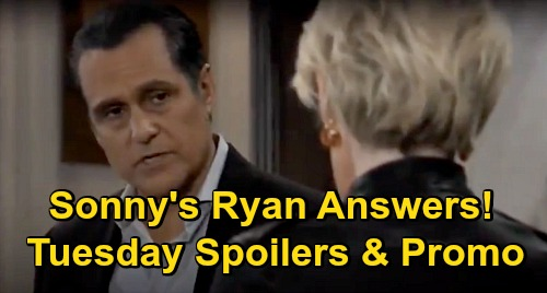 General Hospital Spoilers: Tuesday, November 3 – Alex Moves Hostage Anna – Sonny Wants Ryan Answers from Ava – Franco Emergency