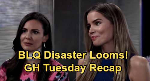 General Hospital Spoilers: Tuesday, October 13 Recap - Maxie & Peter Engaged - Nina To Bury Nelle - BLQ's Singing Dilemma