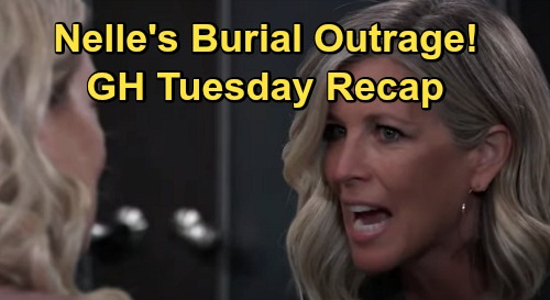 General Hospital Spoilers: Tuesday, October 20 Recap - Michael & Willow To Annul Marriage - Nelle's Burial Outrage
