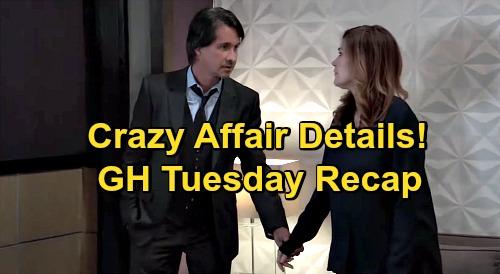 General Hospital Spoilers: Tuesday, October 27 Recap - Jackie & Finn's Affair Explained - Kevin Helps Anna - Nina Tends To Sasha