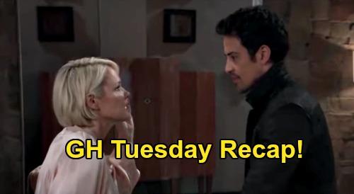General Hospital Spoilers: Tuesday, September 15 Recap - Ava & Nik Make Love - Dante Wants To Come Home - Brook Lynn's Revenge