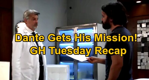 General Hospital Spoilers: Tuesday, September 22 Recap - Dante Gets His Mystery Mission - Nikolas & Ava Get Set Up