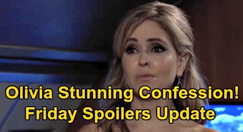 General Hospital Spoilers Update: Friday, September 25 – Olivia's Stunning Confession – Alexis's Hero – Cam Leans on Josslyn
