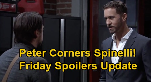 General Hospital Spoilers Update: Friday, September 4 – Jason to the Rescue – Neil Autopsy Shocker – Peter Corners Spinelli