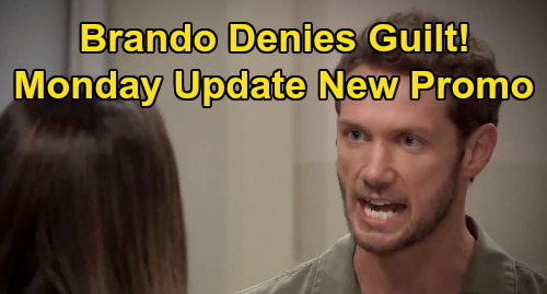General Hospital Spoilers Update: Monday, August 10 – Brando Denies Messing Up Bike - Willow Mystery Visitor – Jason's Terrible Condition