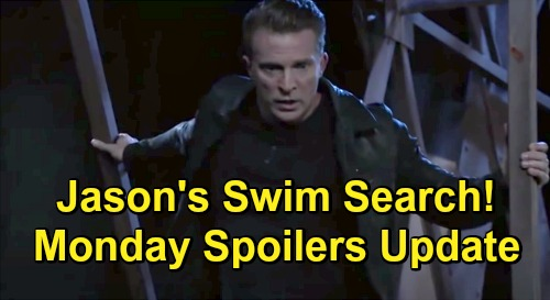 General Hospital Spoilers Update: Monday, December 21 – Corpse Discovery – Jason's Swim Search for Sonny Fails – Anna's Bad News