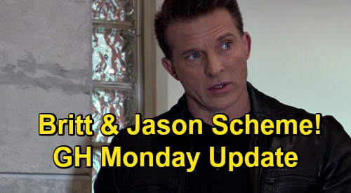 General Hospital Spoilers Update: Monday, December 28 – Chase Interrogates Carly – Britt & Jason Scheme - Obrecht's Peter Rage