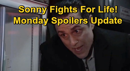 General Hospital Spoilers Update: Monday, November 23 – Explosion Victims Rushed to GH – Sonny Fights to Save a Life – Julian Freaks