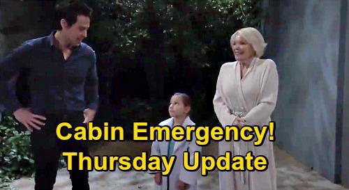 General Hospital Spoilers Update: Thursday, September 17 – Familiar Face Returns, Helps Mike Cross Over – Cabin Emergency