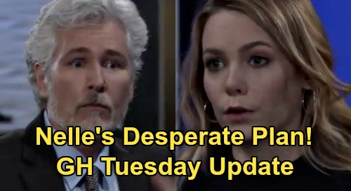 General Hospital Spoilers Update: Tuesday, August 11 – Valentin Grabs ELQ – Curtis Threatens Cyrus – Nelle's Desperate Plan