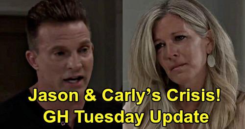 General Hospital Spoilers Update: Tuesday, August 4 – Jason & Carly's Crisis – Brook Lynn's Betrayal – Vengeful Nelle Warns Nina