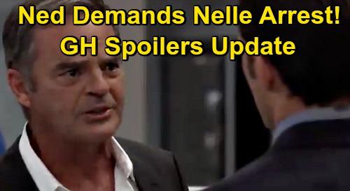 General Hospital Spoilers Update: Tuesday, September 15 – Ned Demands Nelle's Arrest - Olivia the Spy – Nik Derails Ava's Trip