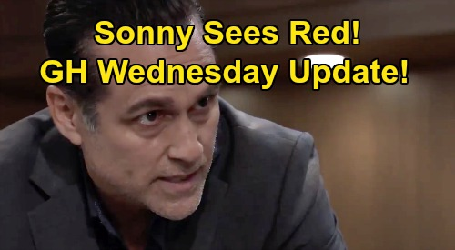 General Hospital Spoilers Update: Wednesday, August 26 – Wiley Now a Burden to Nelle - Taggert Secret Treatment - Sonny Sees Red
