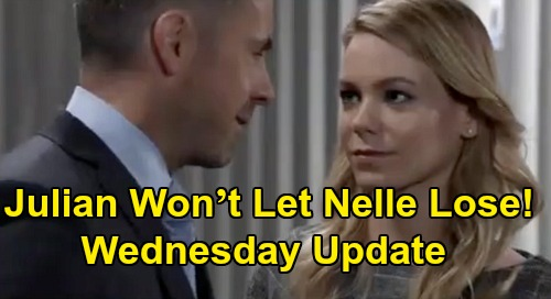 General Hospital Spoilers Update: Wednesday, May 20 – Julian Won't Let Nelle Lose – Martin Trashes Carly & Michael – Jason Helps Sonny Let Go