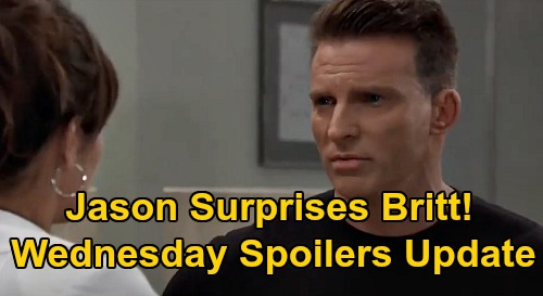 General Hospital Spoilers Update: Wednesday, October 7 – Jason's Plan Surprises Britt – Michael & Willow's Pact - Chase's Mom Mess