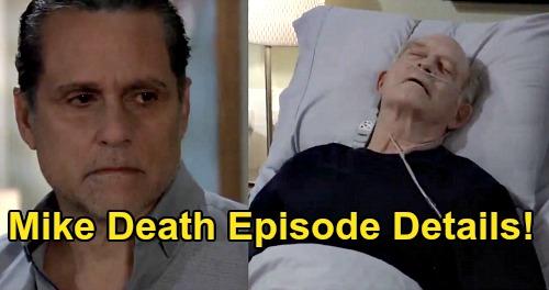 General Hospital Spoilers Update: Wednesday, September 16 – Mike's Death Episode Details – Brando & Joss Connect
