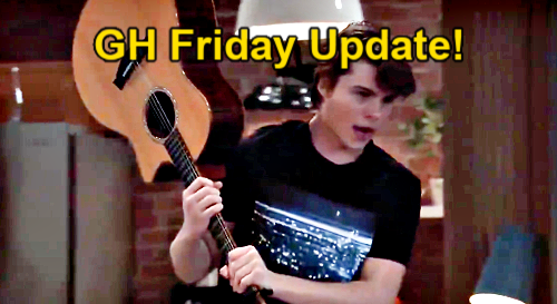 General Hospital Spoilers Update: Friday, February 19 – Cameron Armed – Brad's Bad News – Franco & Liz Anniversary Disaster