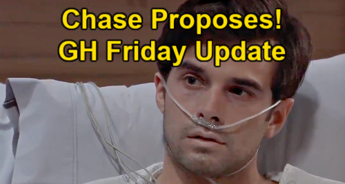 General Hospital Spoilers Update: Friday, June 11 – Chase Proposes to Willow – Anna Clings to Peter Hope – Spinelli Helps Maxie