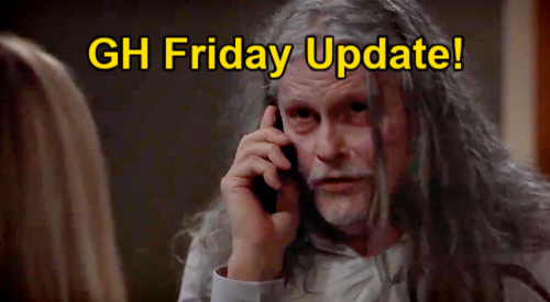 General Hospital Spoilers Update: Friday, June 4 – Valentin Meets Baby Bailey – Carly's Blunder - Cyrus Surprises Laura