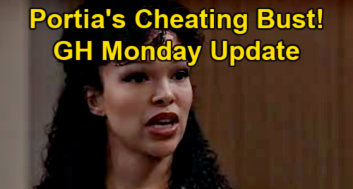 General Hospital Spoilers Update: Monday, April 12 – Tainted Coffee Medical Crisis – Portia Busted for Curtis Cheating