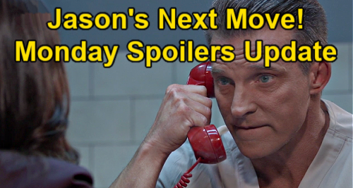 General Hospital Spoilers Update: Monday, April 19 – Peter Poison Sparks Jason's Next Move  – Cyrus Celebrates