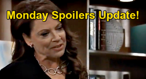 General Hospital Spoilers Update: Monday, July 12 – Obrecht Apologizes to Britt – Maxie's Louise Choice – Sam Visits Alexis