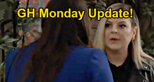 General Hospital Spoilers Update: Monday, July 19 – Nina's Secret Gift - Peter's Pilot Faces Fury – Maxie's Last Baby Visit