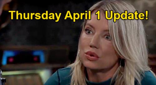 General Hospital Spoilers Update: Thursday, April 1 – Nina's Guilt Coping Sonny Strategy – Cam Slams Jason – Liz's Jake Dilemma