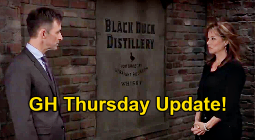 General Hospital Spoilers Update: Thursday, April 8 – Sam's Farewell – Cassadine History Surprise – Alexis Final Night of Freedom