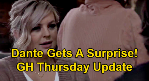 General Hospital Spoilers Update: Thursday, January 21 – Maxie's Surprise for Dante – Tracy's Doom Day – Anna's Liesl Shocker